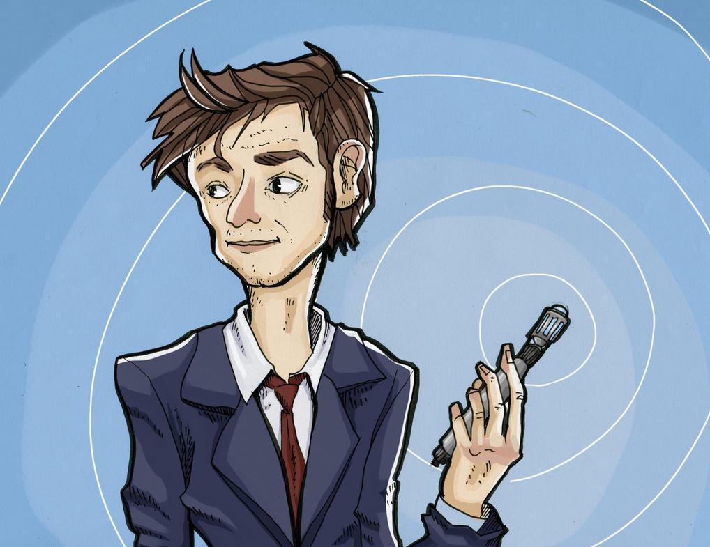 Tenth Doctor - David Tennant by Zumire