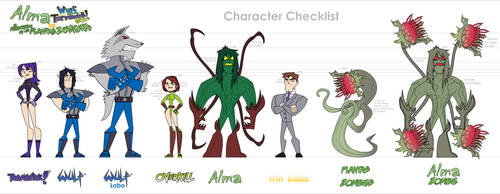 Alma WT Character Checklist by Wulf-Tormentor