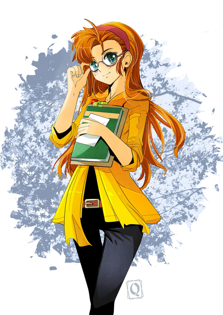 Becky Farrha commision by Qsan by Unidad26