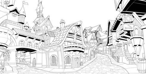 Fantasy town 1