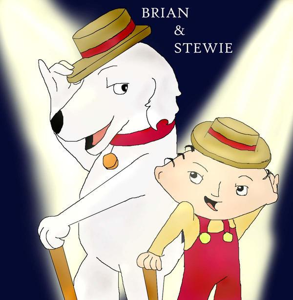 Stewie Wallpaper: Brian And Stewie By Clennie On DeviantArt