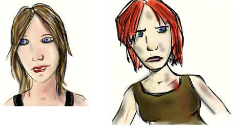 Style Comparison by LeviathanDances
