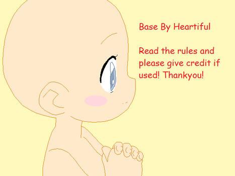 Cute Girl Base by Heartiful