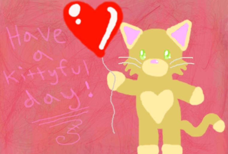 Kittyful Day by Heartiful