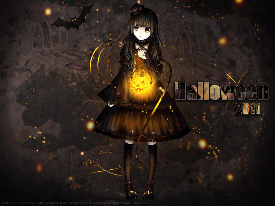 Halloween 2011 wallpaper by SnowStar90