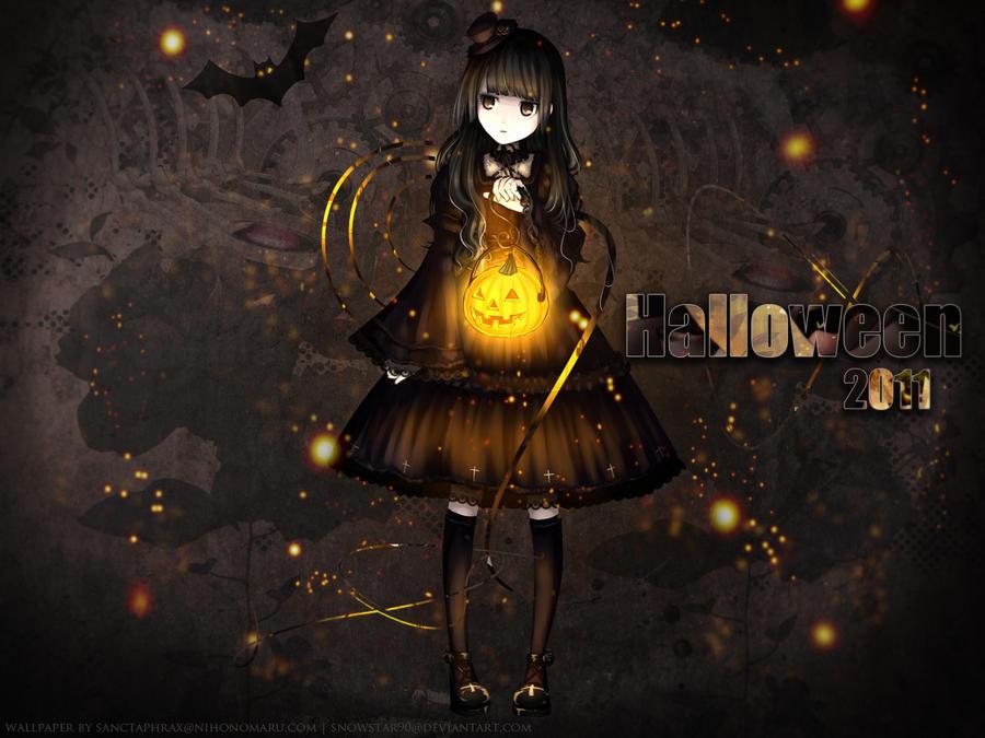 Halloween 2011 wallpaper by SnowStar90