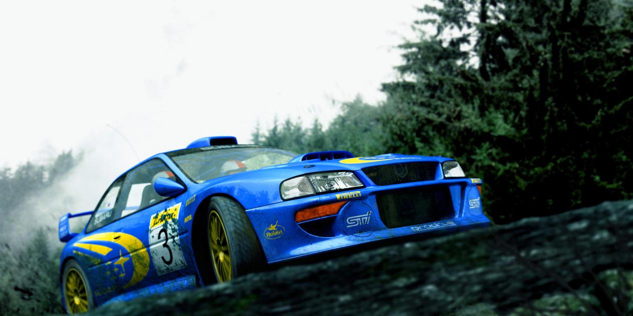 Subaru WRC by DerZwilling