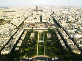 View from the Eiffel Tower by Frostegard