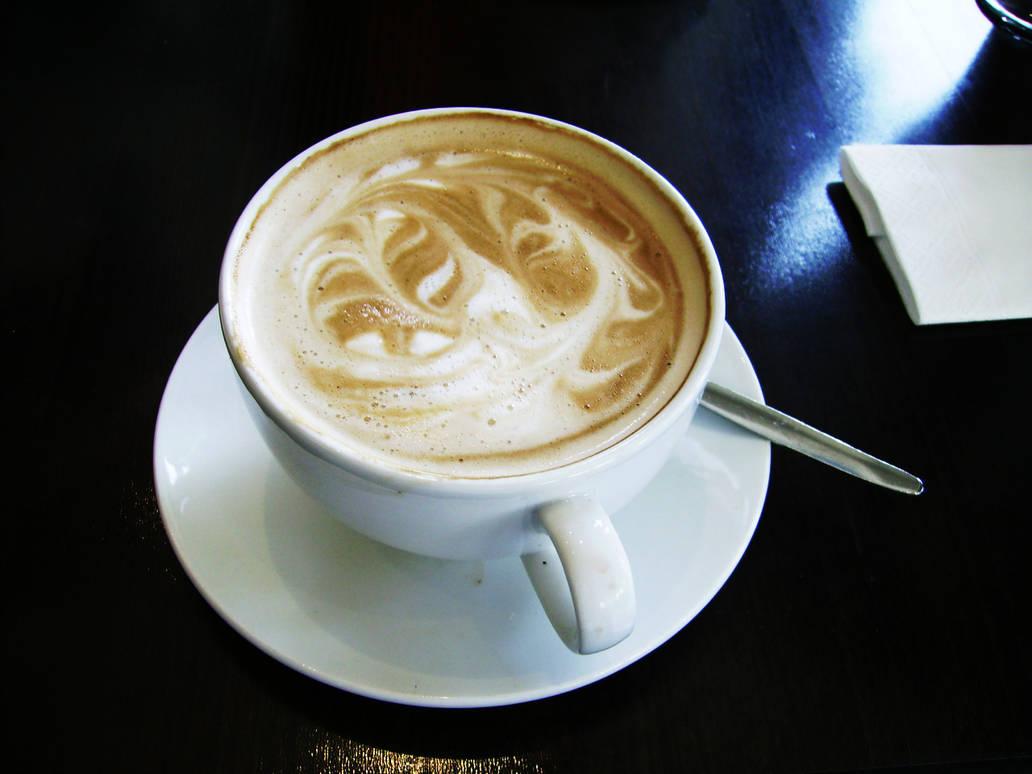 Coffee latte by Frostegard