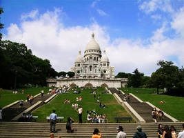 Sacre Coeur by Frostegard