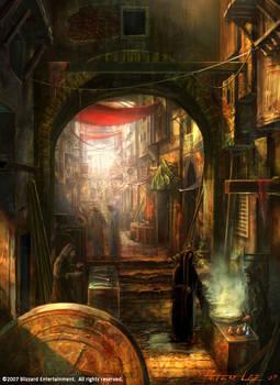 slum market