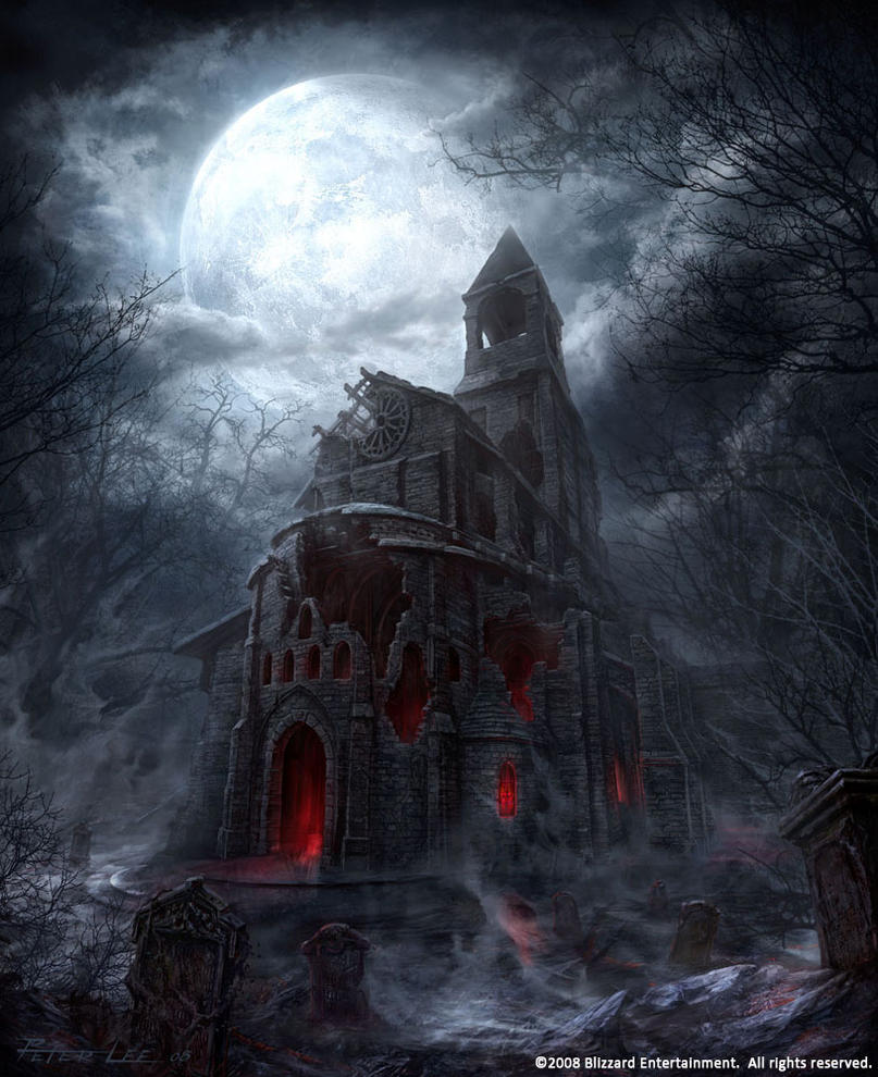 Scary Church By Peterconcept On Deviantart
