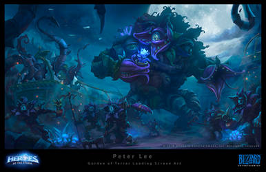 Heroes of the Storm Concept by peterconcept