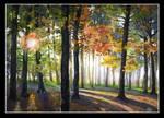 Autumn morning by ILioNart