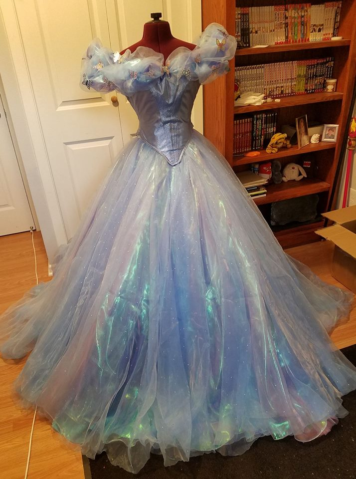 Cinderella 2015 dress~! by Luraia