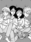 Asylum Squad strait-jacket divider page