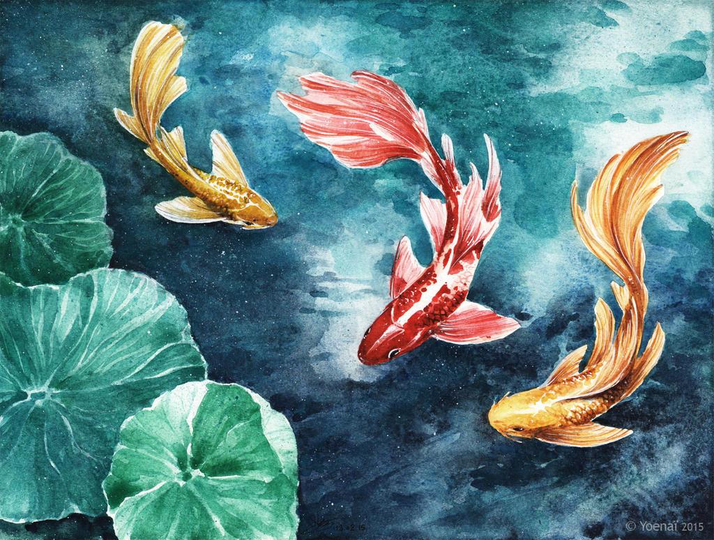 Fishes by Yoenai