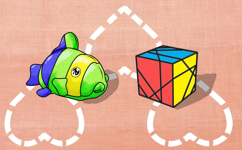 Cubo Pez y el Mejor cubo by danteshinobi