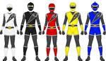 Kunai Sentai Ninseiger/Power Rangers Ninja Stars