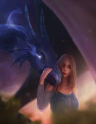 Dragon Tamer by Sketchkingdom