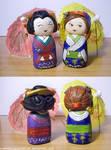 Art Trade-Kimono Girls