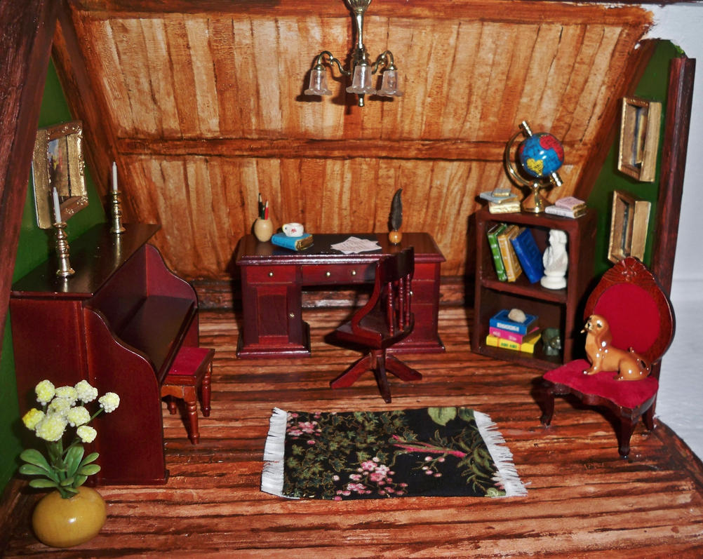 Dollhouse Study by MariaHasAPaintBrush