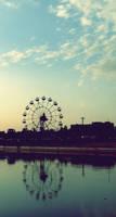 Ferris Wheel by Fioleeetka