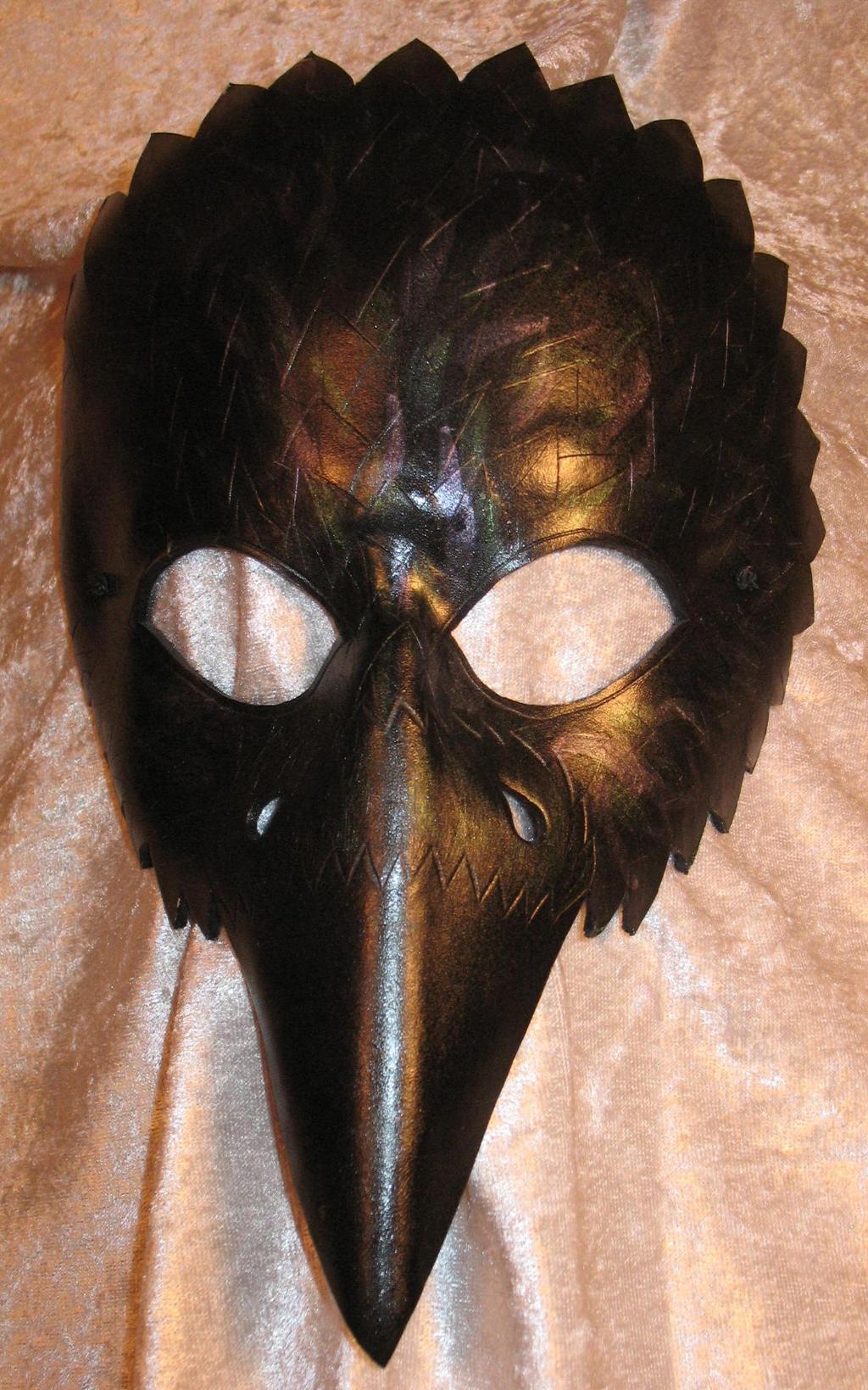Как сделать маску для сороки