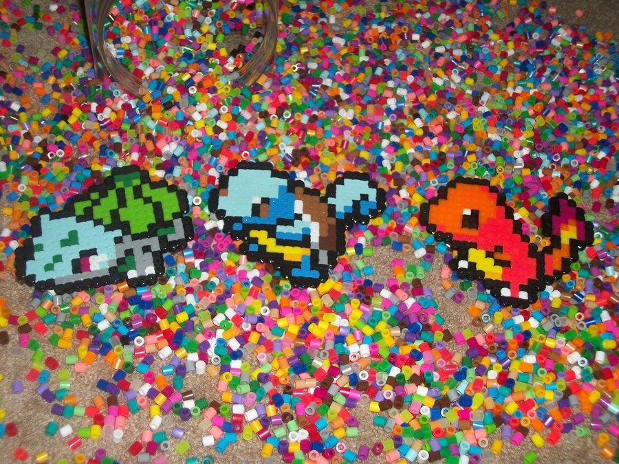 Pokemon perler beads by DinosaursGoRawr1 on DeviantArt