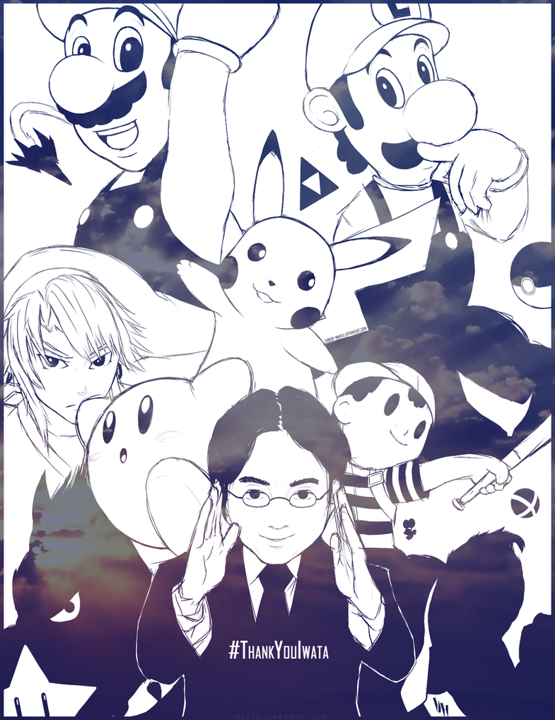 #ThankYouIwata by Vanish-Mantle