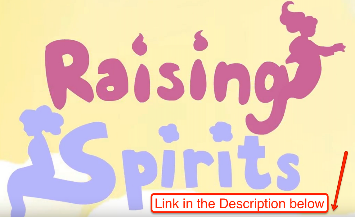 Raising Spirits (link below in the description) by PenciltipWorkshop