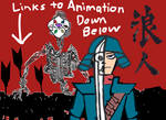Ronin and the Blood Sky Forest (animation online!) by PenciltipWorkshop