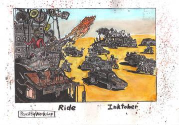 Inktober 2019-Day 28-Ride-Mad Max:Fury Road