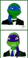 Turtles in Tuxedo