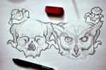 my wrist tattoos. [: