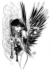 Ragtag Angel  by andrewlawart