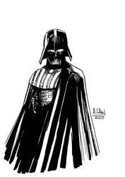 Darth Vader by andrewlawart