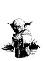 Yoda by andrewlawart