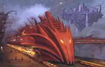 Dragon Fire Express by Simon Buckroyd