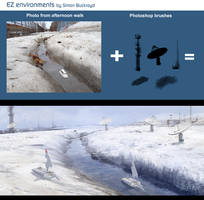 EZ Environments by Simon Buckroyd SatComSnowscape