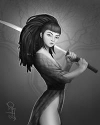 Samurai by Simon Buckroyd by Binoched