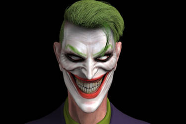 Joker (WIP) by Simon Buckroyd by Binoched