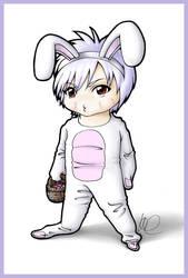 Chibi Durandal Bunny by kachi