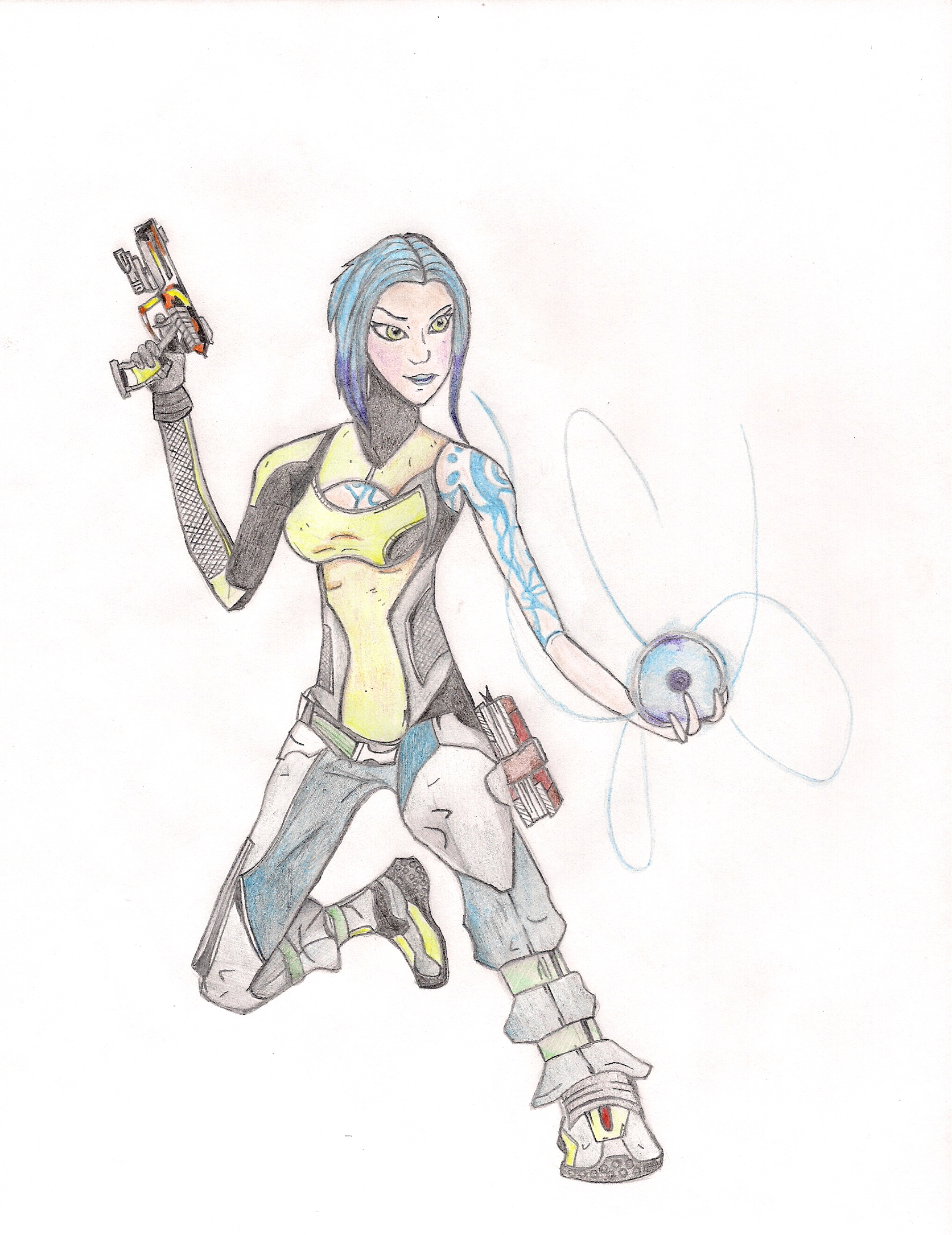 Maya Borderlands 2 by EcCenTricN8tive26