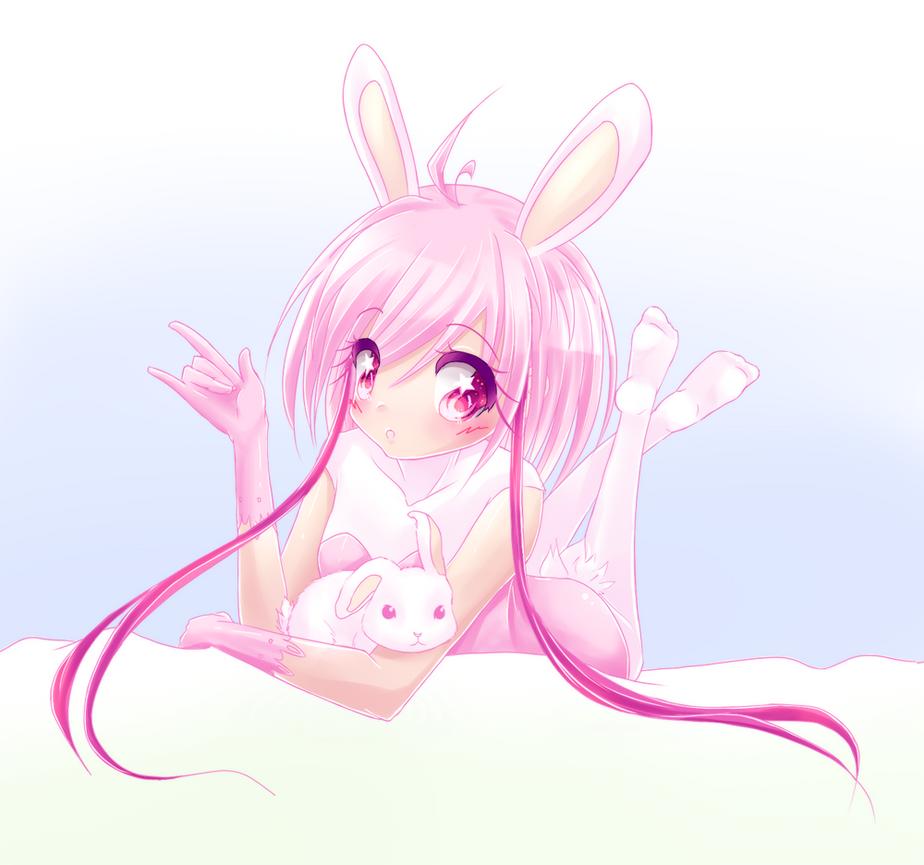 Happy Birthday Rabbit By Moon Valkyrie