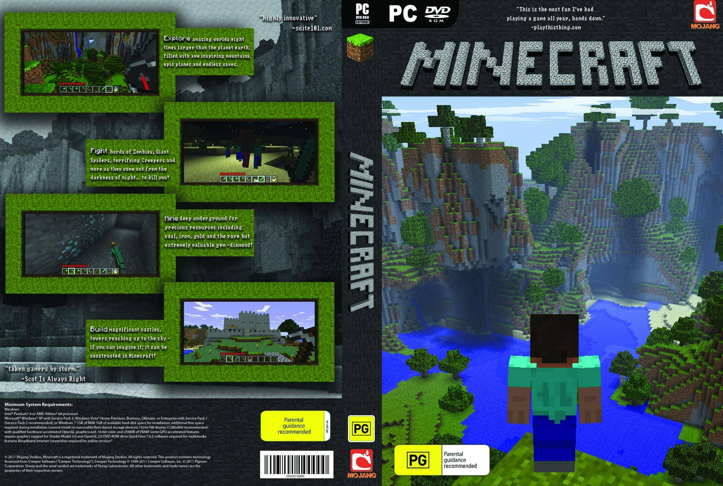 Minecraft PC by Zanon5 on DeviantArt