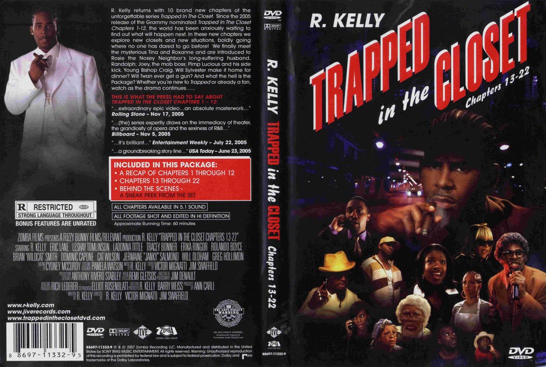 R  Kelly - Trapped In The Closet 13-22 DVD Cover by Zanon5