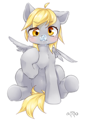 Derpy by aquoquoo