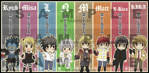 Death Note : Bookmarks