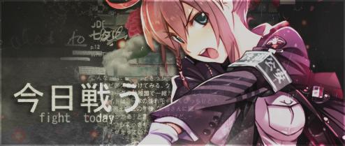 Anime Girl Banner by hitsuhinabby